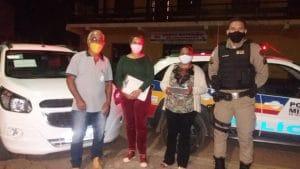Setores de tributos e vigilância sanitária com apoio da polícia militar; realizaram orientações e fiscalizações nos comércios locais.